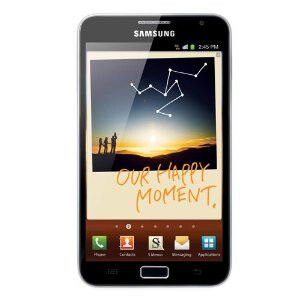 The international version of the Samsung GALAXY Note