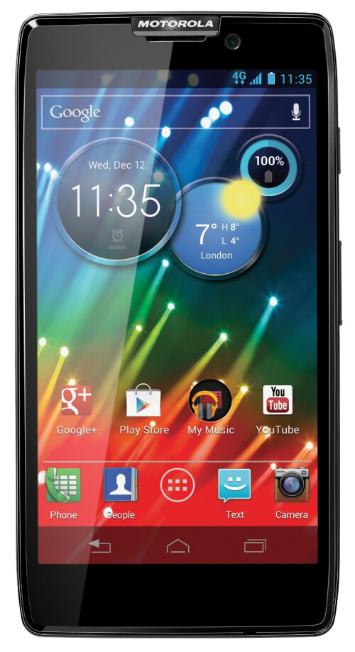 Motorola Droid RAZR HD official images