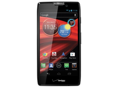 "Motorola DROID RAZR MAXX HD comes with ""ridiculously long battery life"" and extra memory"