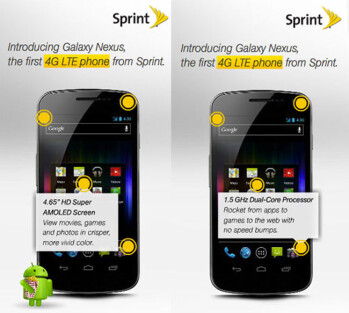 Sprint owners of the Samsung GALAXY Nexus could be receiving Android 4.1 on Thursday