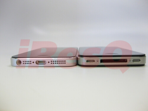 Fully assembled chassis claimed to be of the new iPhone leaks, flaunts slender profile next to the 4