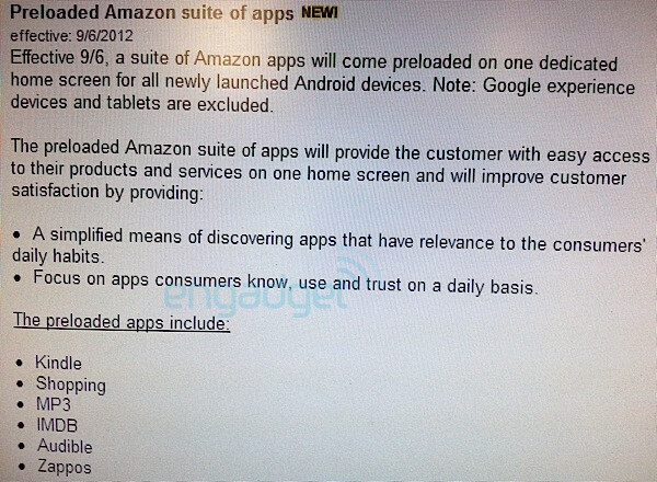 Verizon loads Amazon apps on all new Android devices, makes spending money easier