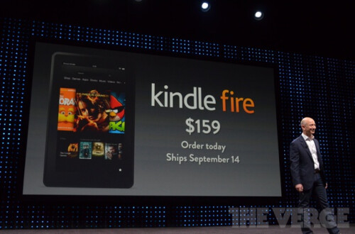 New Amazon Kindle Fire at $159