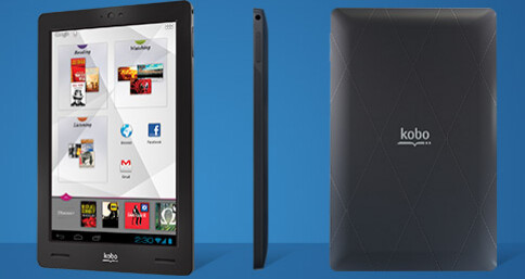 The Kobo Arc 7 inch tablet - Kobo launches a 7 inch Android tablet as it tries to piggyback on Amazon's buzz
