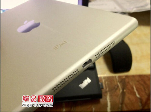 Pictures of the shell of the Apple iPad mini