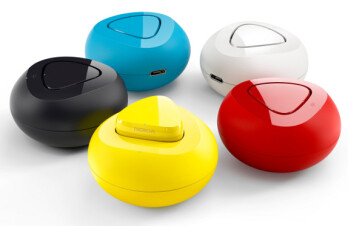 The colorful Nokia Luna Bluetooth headset