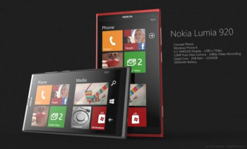 The new flagship, Nokia Lumia 920