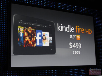 The flagship Amazon Kindle Fire 8.9 4G LTE