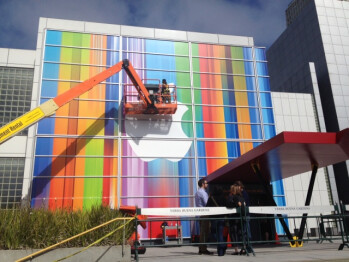 Preparing the Yerba Buena Center for the Arts