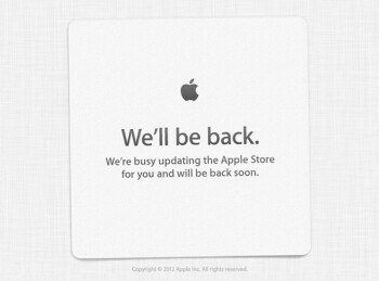 Apple Store goes down hours ahead of iPhone unveiling