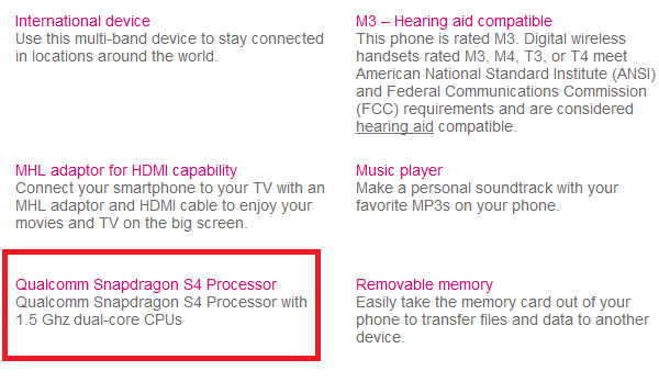 T-Mobile's web site mistakenly gives the Samsung Galaxy S Relay 4G an S4 processor - Has T-Mobile's web site mistakenly given the Samsung Galaxy S Relay 4G an S4 processor?