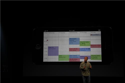 Apple's staple iOS apps and some 3rd party ones have been redesigned to take advantage of the new screen