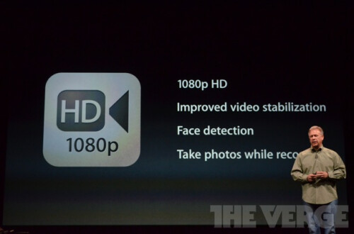 Apple iPhone 5 camera details