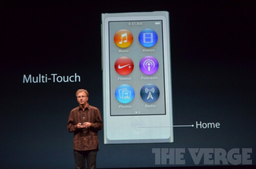 Redesigned iPod Nano