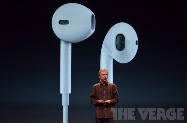 "Apple announces EarPods: ""earphones that fit everyone"""