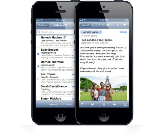 Facebook is deeply integrated into iOS 6