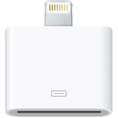Lightning to 30-pin adapter ($29)
