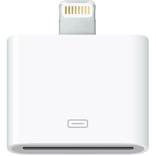 Lightning to 30-pin adapter ($29)
