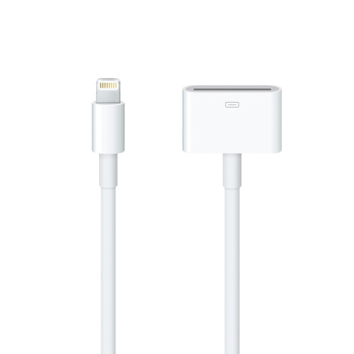 Lightning to 30-pin adapter with cable ($39)