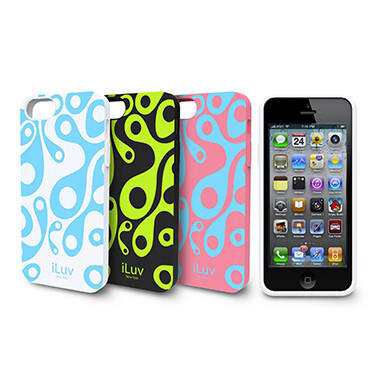 iLuv glow-in-the-dark iPhone 5 case