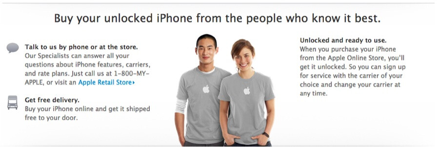 You can buy your Apple iPhone 5 unlocked directly from Apple - Apple reveals the prices for unlocked versions of the Apple iPhone 5 in the U.S. and Canada
