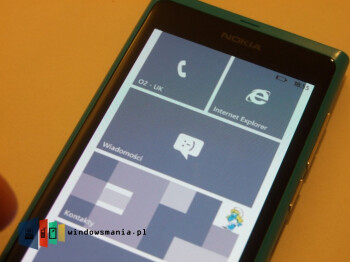 Nokia Lumia 800 seen running Windows Phone 7.8