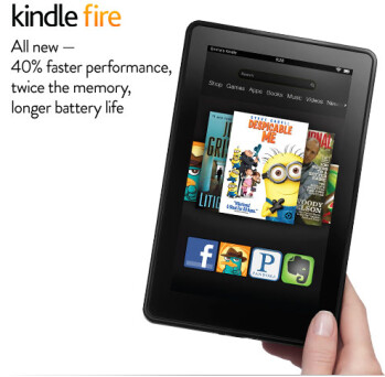 The Amazon Kindle Fire 2 is now available