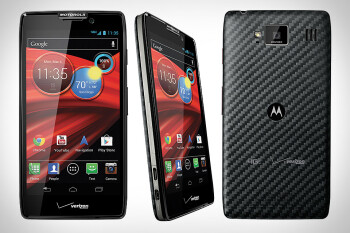 The Motorola DROID RAZR MAXX HD