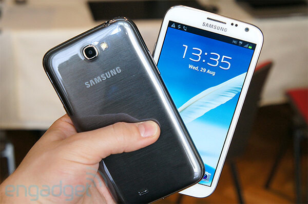The Samsung GALAXY Note II - October 21st launch for the Samsung GALAXY Note II on AT&T?