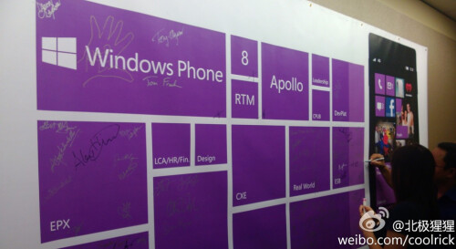 Windows Phone 8 RTM Apollo