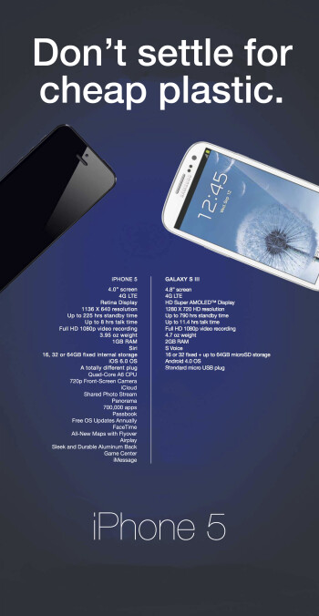 Two parodies of Samsung's original ad (R)