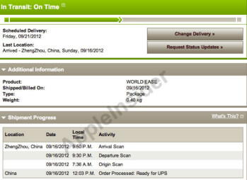 Some Apple iPhone 5 pre-orders are leaving China