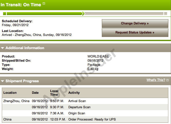Some Apple iPhone 5 pre-orders are leaving China - First Apple iPhone 5 orders leaving China now