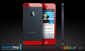 Here is how to get a blue, red, or pink iPhone 5