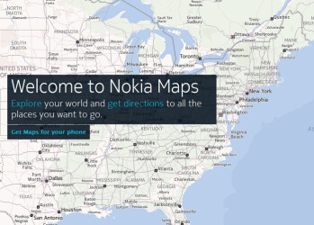 Nokia is behind the mapping on the Amazon Kindle Fire