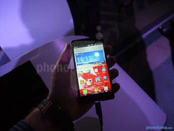LG Optimus G hands-on