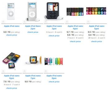 The strange and rapid evolution of the iPod nano.