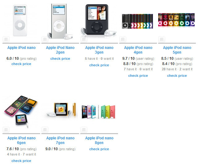 The strange and rapid evolution of the iPod nano. - Could Apple be readying a wearable device? iPod nano design departure might be a hint