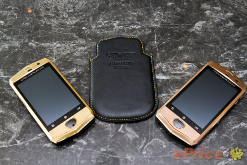 $1300 Aston Martin Android phone is as tacky as it is underpowered