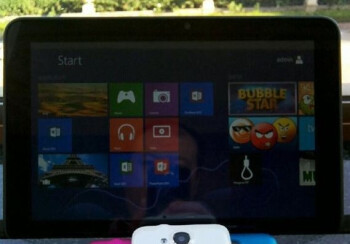 A ZTE Windows-RT tablet