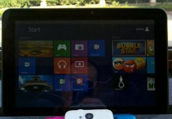 A ZTE Windows-RT tablet