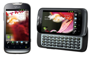 Huawei T-Mobile myTouch 2 and T-Mobile myTouch Q 2