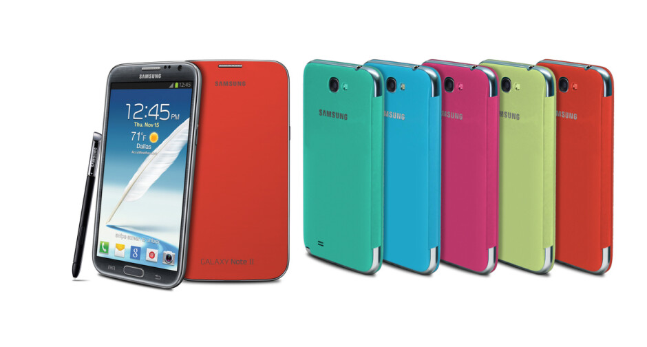 The Samsung Galaxy Note II - Samsung Galaxy Note II announced for AT&T, Verizon, Sprint, T-Mobile, U.S. Cellular