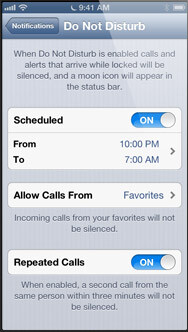 Phone - Very important contacts