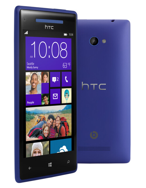 "HTC 8X Windows Phone 8 flagship official: 4.3"" display, LTE, rocking 'em Beats"