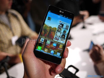 LG Optimus G (International) hands-on
