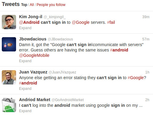 Android users having problems signing into Google Now (all fixed)