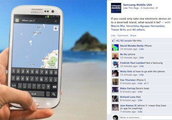 Samsung Facebook campaign goes wrong as users pick iPhone instead of Galaxy S III