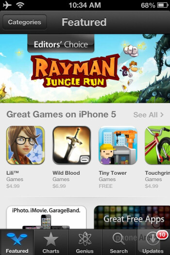 Redesigned App Store, iTunes and iBookstore