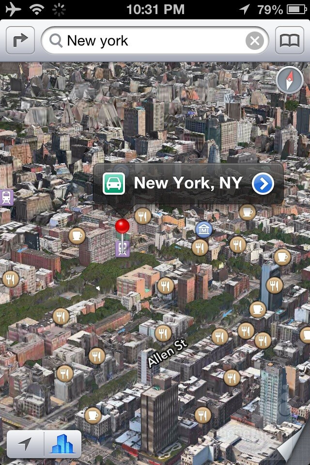 New Maps application - iOS 6 Review